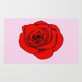 Red Rose. Rug