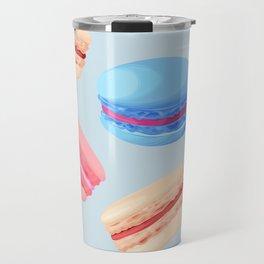 Macaroons Travel Mug
