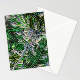 Botanical Boho Pattern Stationery Cards