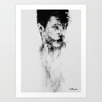 depression Art Prints featuring Depression by S.Shehadeh