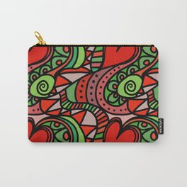 Seamless Love Pattern. Carry-All Pouch