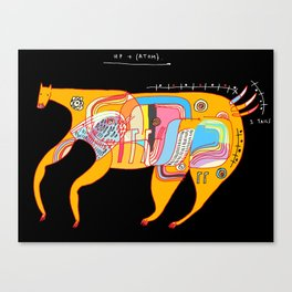 Up and (atom) Canvas Print