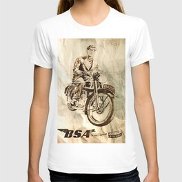 BSA - Vintage Poster T-shirt