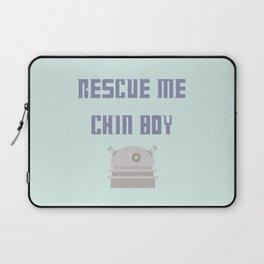 Rescue Me Chin Boy Laptop Sleeve