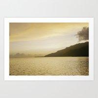 Waterscape #4 Art Print