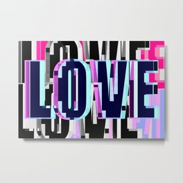 Only Love Metal Print