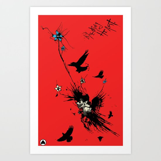 CROWBOY Art Print