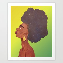 I Am Beauty Art Print
