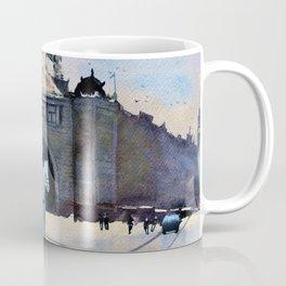 Flinders Street - horse and carriage Coffee Mug
