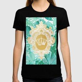 Tropical Leaf Crown T-shirt