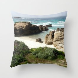 California Ocean 06 Throw Pillow