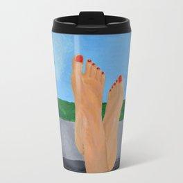 'Death Proof' inspired painting Travel Mug