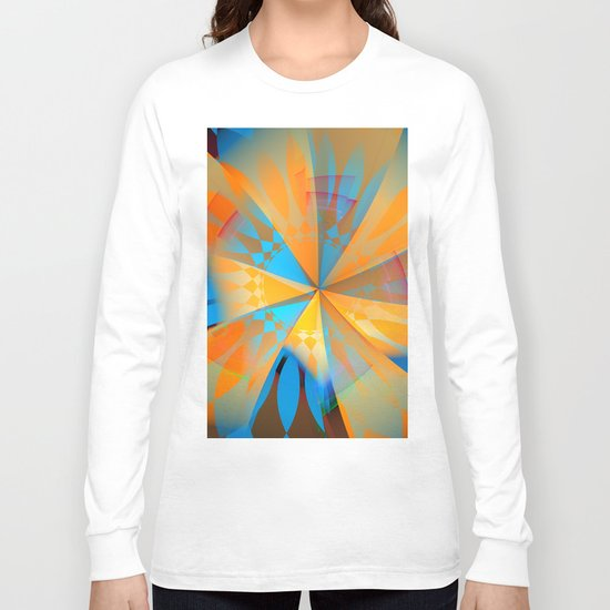 Thinking of a blue sky and the summer sun Long Sleeve T-shirt