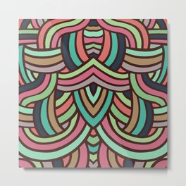 Groovely Metal Print