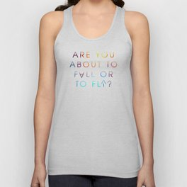 Fall or Fly Unisex Tank Top