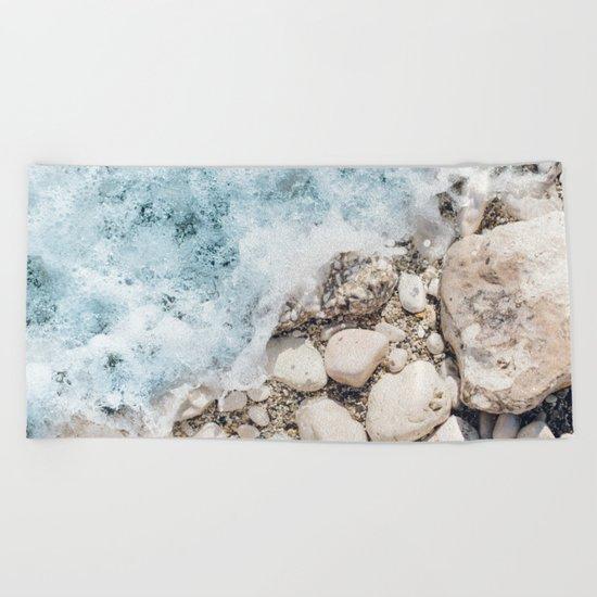 Wave On Beach Towel