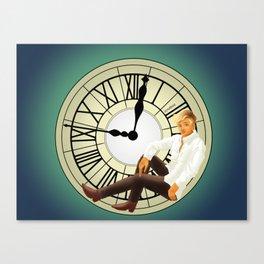 Clock spirits Canvas Print