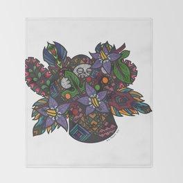 Truth (Botanical Bliss) Throw Blanket