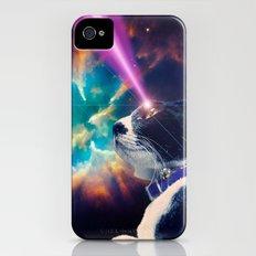 Neko San in Space iPhone (4, 4s) Slim Case