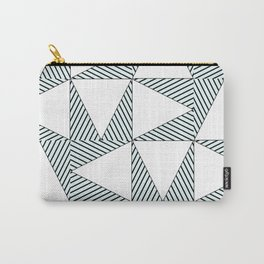 Audrey and Frank - Modern Envelopes (Blue) Carry-All Pouch