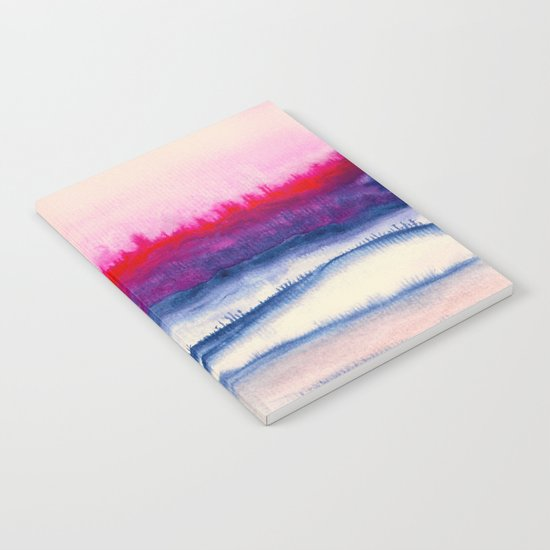 Watercolor abstract landscape 29 Notebook