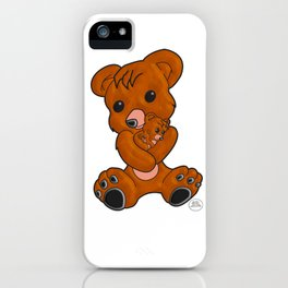 Teddy's Love iPhone Case