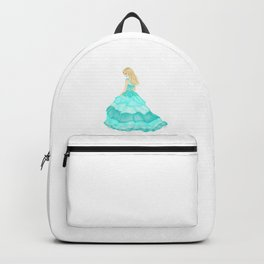 The Teal Dress Backpack