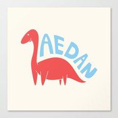 Aedanosaurus Canvas Print