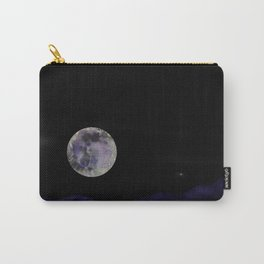 Pansy Moon Carry-All Pouch