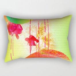 asian garden planet Rectangular Pillow