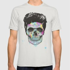 Color your death Mens Fitted Tee SMALL Silver