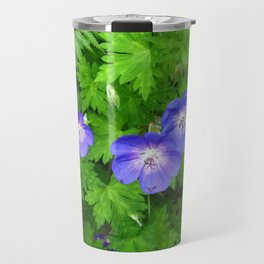 Blue cranesbill Travel Mug
