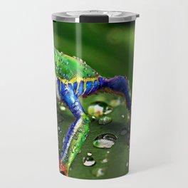 Frog Portrait Travel Mug