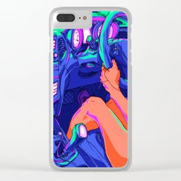 Driving Clear iPhone Case
