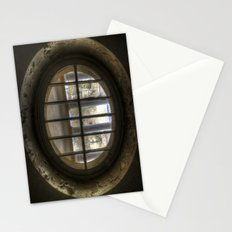 Round window Stationery Cards