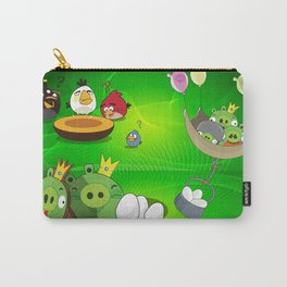 Angry Birds Cartoon Mix Carry-All Pouch