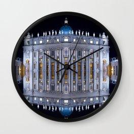 Vatican City Reflexion Wall Clock