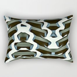 Ribbed. Rectangular Pillow