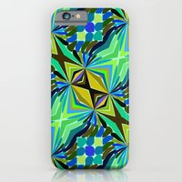 Colorful geometric abstract 14 Slim Case iPhone 6s