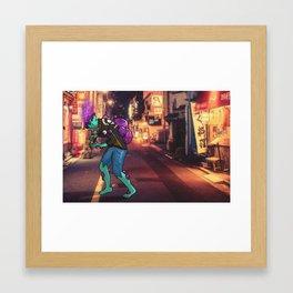 Bob-omb Zombie Framed Art Print