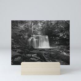 Appalachian Waterfall III - Ricketts Glen Adventure Mini Art Print