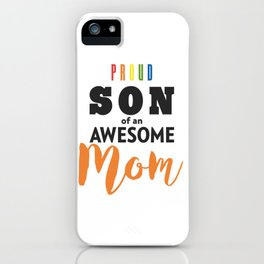 Proud Family Gift, Gay Pride LGBT  iPhone Case