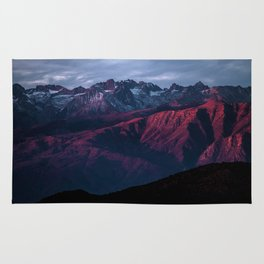 Red mountain 4 Rug