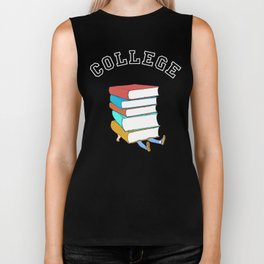 College Textbooks and Student Loans Biker Tank