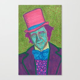 Willy Wanker Canvas Print