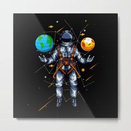 awesome astronaut Metal Print