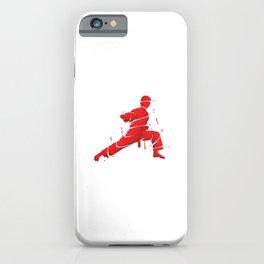 Eat Sleep Karate Repeat Fighter Martial Arts Kendo Taekwando Combat Sports Gift iPhone Case