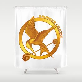 #HungerGainz Shower Curtain