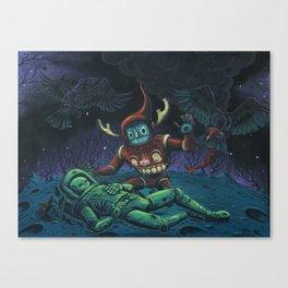Psychopomp for the Previous Incarnation Canvas Print