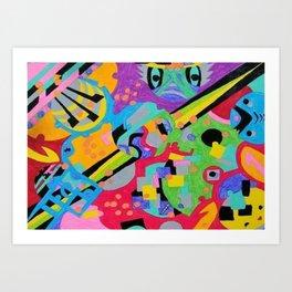 Colorful Creative Art Print